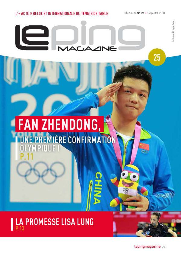 12467. PSM - Le ping magazine 25 - Sortie générale BD