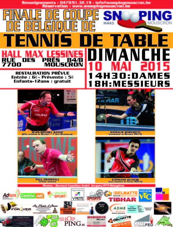 Affiche Coupe de Belgique - BR-1